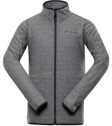 ALPINE PRO MYRON Pánský hřejivý svetr MPLT092779 tmavě šedá S