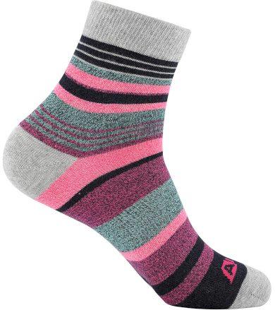 ALPINE PRO NEFISE Unisex ponožky USCT072810 růžová L