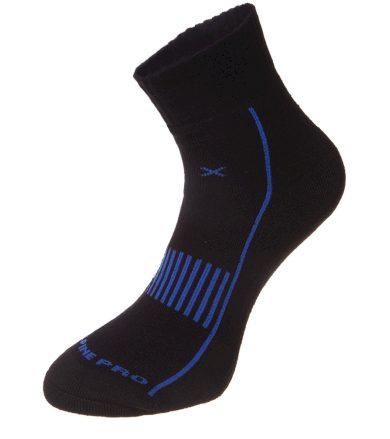 ALPINE PRO MACCKO 2 Unisex ponožky USCM046674 Blue aster XS