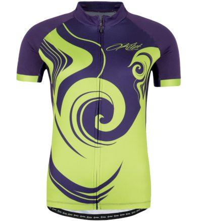 KILPI Dámský cyklistický dres FOXIERA-W GL0006KIVLT Fialová 36