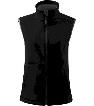 Malfini Vision Dámská softshellová vesta 51601 černá S