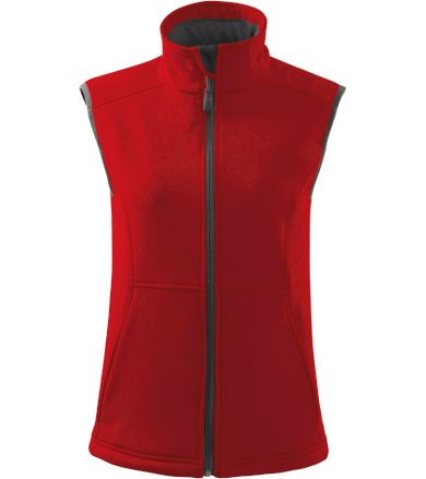 Malfini Vision Dámská softshellová vesta 51607 červená S