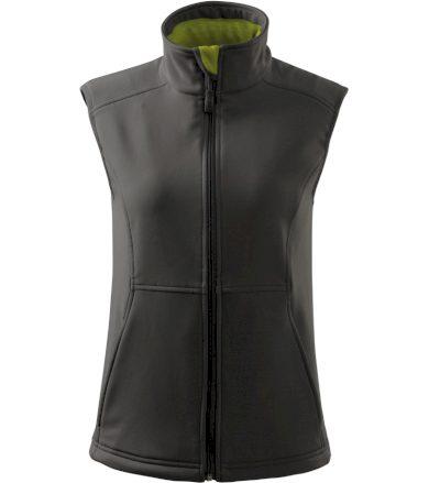 Malfini Vision Dámská softshellová vesta 51636 ocelová šedá S