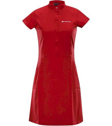 ALPINE PRO VAKIA 4 Dámské šaty LSKT283445 purpurová M-L