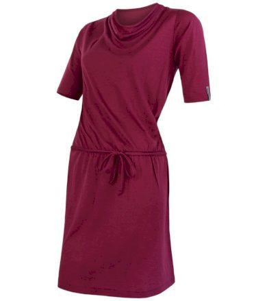 MERINO ACTIVE Dámské sportovní šaty 20100010 lilla L
