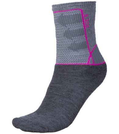 ALPINE PRO JARIX Uni ponožky USCF015411 fuchsiová L