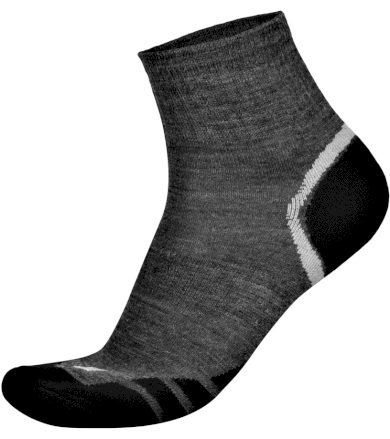ALPINE PRO GENTIN Unisex ponožky - merino USCK023773 šedá S