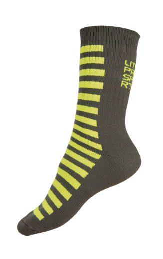 LITEX Termo ponožky. 99655104 žlutozelená 24-25