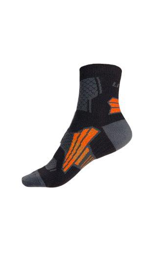 LITEX Sportovní ponožky. 99680901 černá 26-27