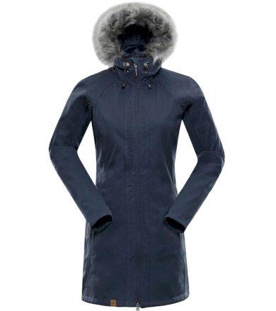 ALPINE PRO PRISCILLA 3 INS. Dámský softshellový kabát LCTM062672 Vintage indigo XS