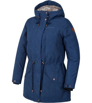 HANNAH ESMAIL Dámský zimní kabát 10000165HHX01 Dark denim 36