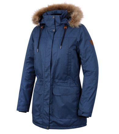 HANNAH GALIANO II Dámský kabát 10000169HHX01 poseidon mel 34