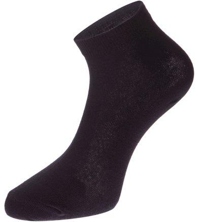 ALPINE PRO 2ULIANO Unisex ponožky 2 páry USCZ013990 černá S