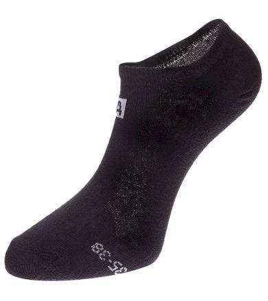 ALPINE PRO 3UNICO Unisex ponožky 3 páry USCZ006990 černá S