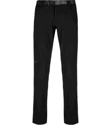 KILPI Pánské outdoorové kalhoty JAMES-M KM0113KIBLK Černá S