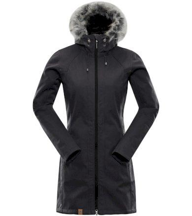 ALPINE PRO PRISCILLA 3 INS. Dámský softshellový kabát LCTM062990 černá XS