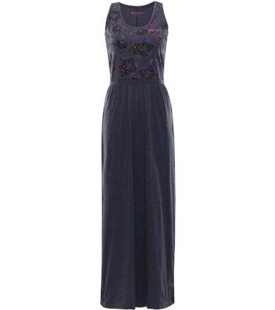 ALPINE PRO MESKIA Dámské šaty dlouhé LSKN170602 mood indigo XS