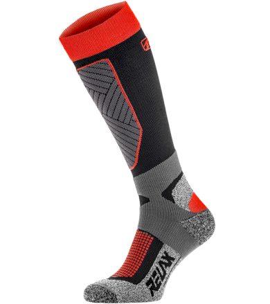 RELAX COMPRESS Lyžařské ponožky RSO30 tmavá šedá L