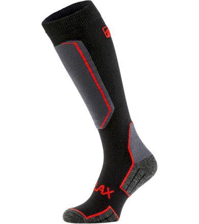RELAX CARVE Lyžařské ponožky RSO33 černá/červená S