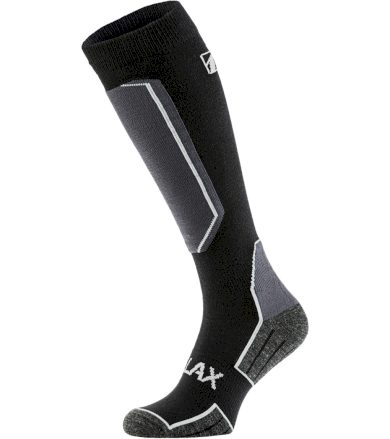 RELAX CARVE Lyžařské ponožky RSO33B černá/šedá XL