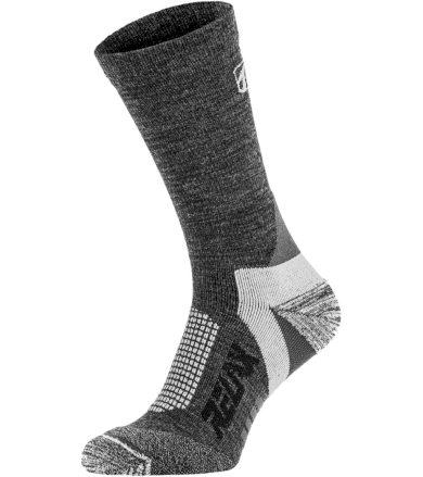 RELAX NORDIC Lyžařské ponožky - merino RSO37A tmavá šedá M