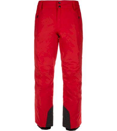 KILPI Pánské lyžařské kalhoty GABONE-M LM0047KIRED Červená XS