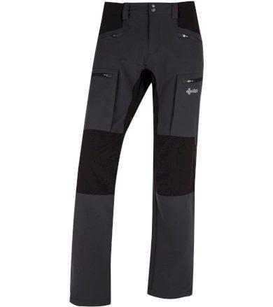 KILPI Pánské outdoorové kalhoty TIDE-M HM0112KIDGY Tmavě šedá XXL