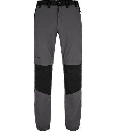 KILPI Pánské outdoorové kalhoty HOSIO-M MM0024KIDGY Tmavě šedá SS