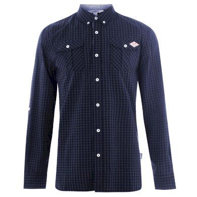 Lee Cooper Long Sleeve Shirt Mens Pánská košile 55883373 SD_Large