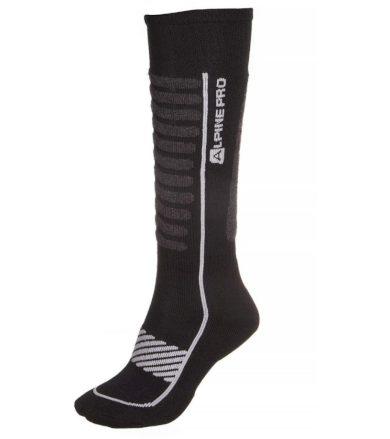 ALPINE PRO NELL 2 Unisex ponožky - merino USCM047773 šedá M