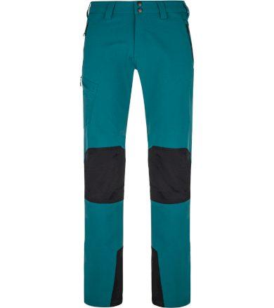 KILPI Pánské outdoorové kalhoty - větší velikosti TIDE-M NMX015KITRQ Tyrkysová 5XL