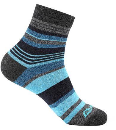 ALPINE PRO NEFISE Unisex ponožky USCT072697 brilliant blue S
