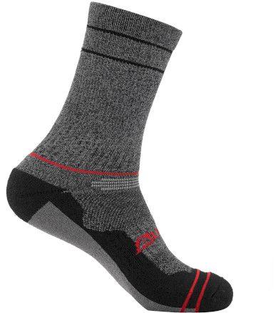 ALPINE PRO BIOFE Unisex thermo ponožky USCT073445 purpurová L