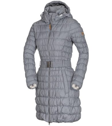 NORTHFINDER DULCE Dámský kabát BU-45382SP320 melange S