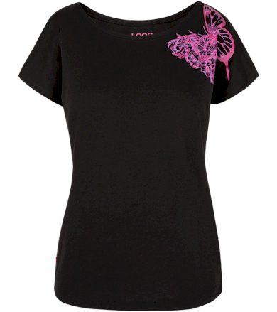 LOAP BABEA Dámské tričko CLW2024V24K Tap Shoe / Purple XS