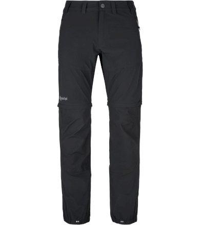KILPI Pánské outdoorové kalhoty HOSIO-M PM0025KIBLK Černá XS