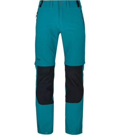 KILPI Pánské outdoorové kalhoty HOSIO-M PM0025KITRQ Tyrkysová XS