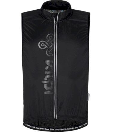 KILPI Pánská cyklistická vesta FLOW-M PM0042KIBLK Černá S