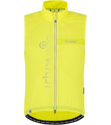 KILPI Pánská cyklistická vesta FLOW-M PM0042KILGN Zelená S