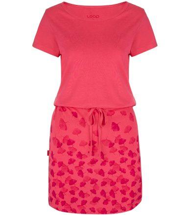 LOAP ASCALA Dámské šaty CLW2072H32H Růžová S