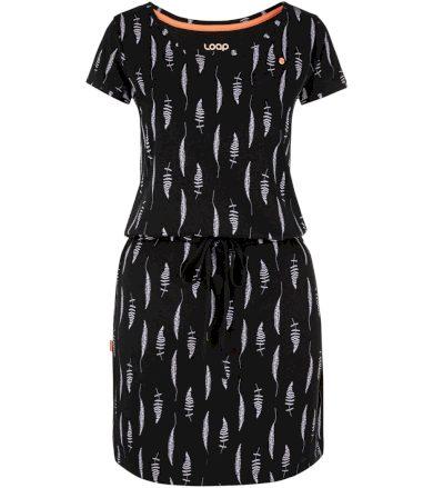 LOAP BALINA Dámské sportovní šaty CLW2033V24YT Tap Shoe Allover / Gray M