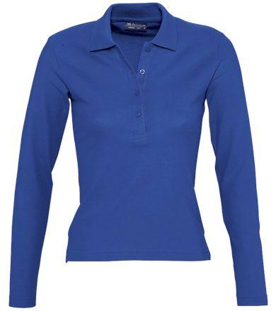 SOĽS Dámská polokošile s dlouhým rukávem PODIUM 11317241 Royal blue L