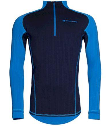 ALPINE PRO PEGASOS 2 Pánské termo triko s dlouhým rukávem MUNP044674 Blue aster S