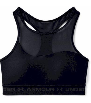 Under Armour Armour Mid Crossback M Bra Dámská sportovní podprsenka 1360307-001 Black S
