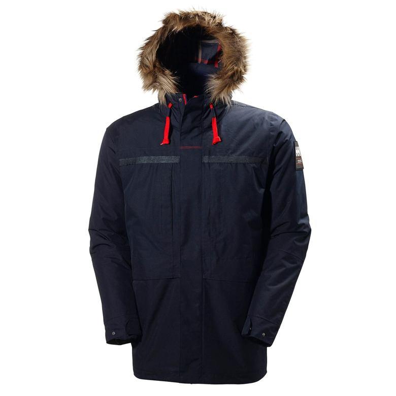 Pánská zimní bunda HELLY HANSEN 54408 597 COASTAL 2 PARKA NAVY L