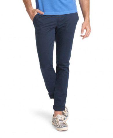 Pánské plátěné kalhoty HIS CHINO COOPER 4495 navy blazer navy blazer 32/32
