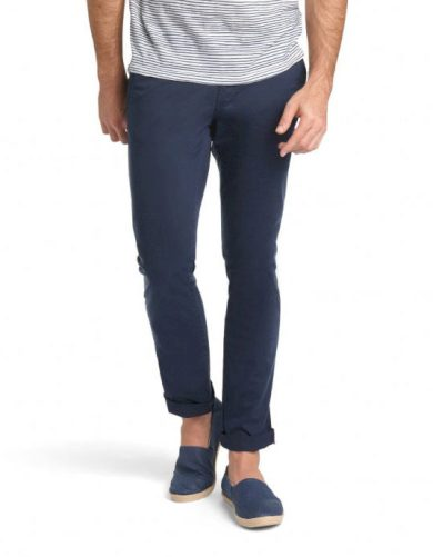 Pánské plátěné kalhoty HIS CHINO COOPER 4495 Navy blazer Navy blazer 33/34