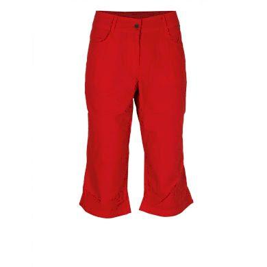 Dámské bermudy FIVE SEASONS W ROXIE PIRATE 815 RICH RED RICH RED velikost 40