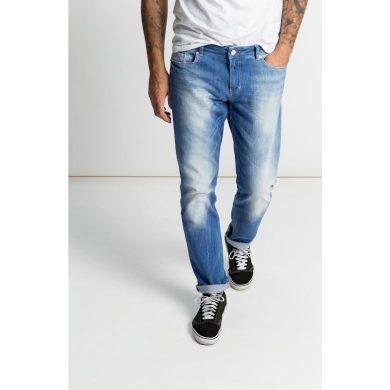 Pánské jeans HIS CLIFF 9383 premium medium blue wash premium medium blue wash 38/32