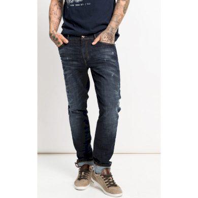 Pánské jeans HIS CLIFF 9713 premium derk blue wash premium derk blue wash 38/32